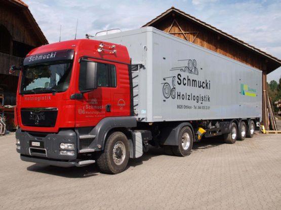 Schmucki Holzlogistik LKW